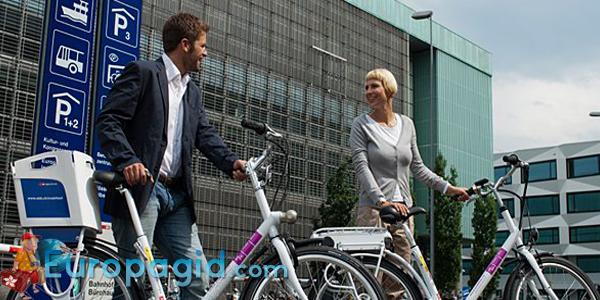 Как арендовать велосипед в Цюрихе