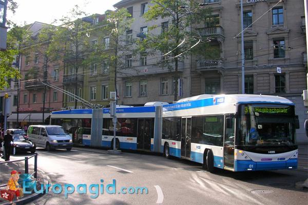 Цена билетов на автобусы в Цюрихе для вас