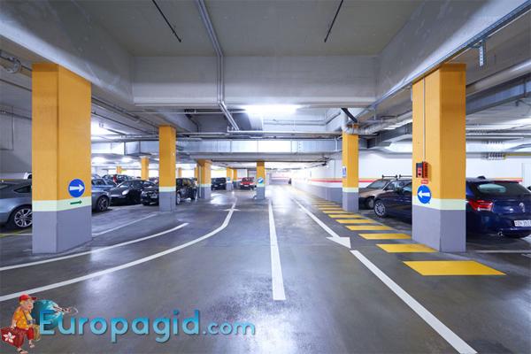 Бесплатные парковки в Цюрихе для всех