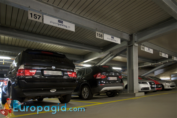 Бесплатные парковки в Цюрихе