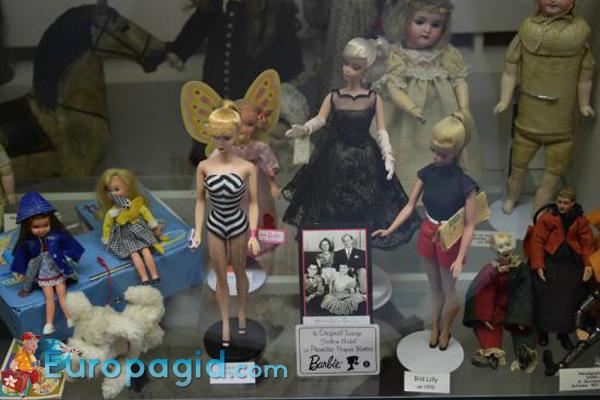Музей игрушек в Цюрихе для всех