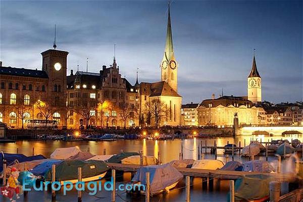 Старый город в Цюрихе для всех