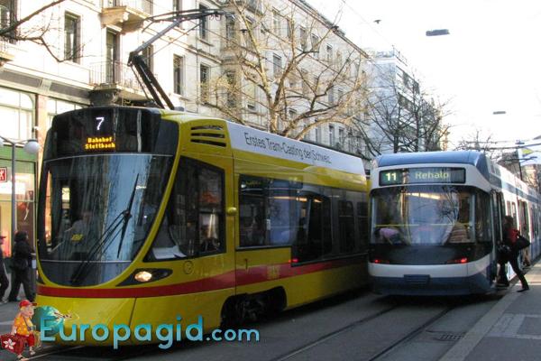 Трамваи в Цюрихе для вас