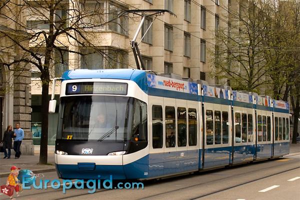 Трамваи в Цюрихе для всех
