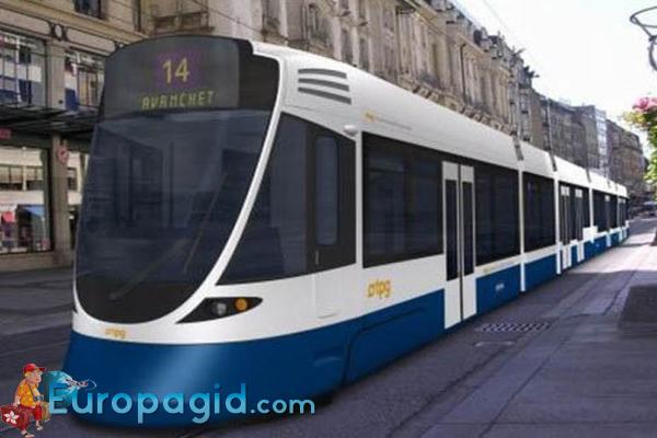 Трамваи в Цюрихе