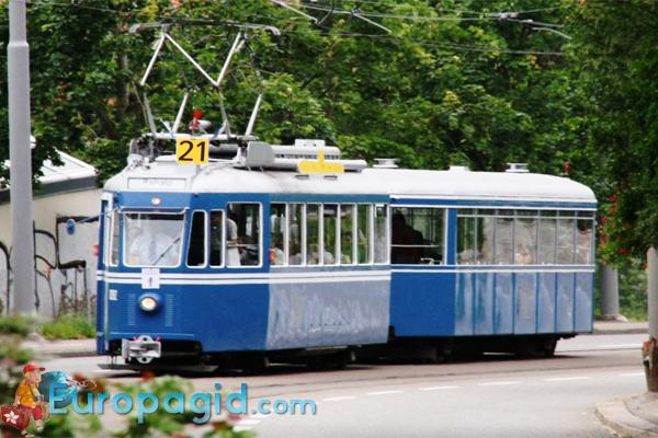 Цена билетов на трамваи в Цюрихе