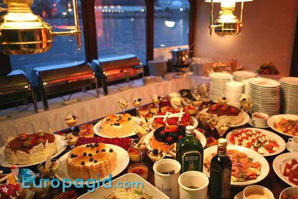 Забронировать столик на новый год в праге